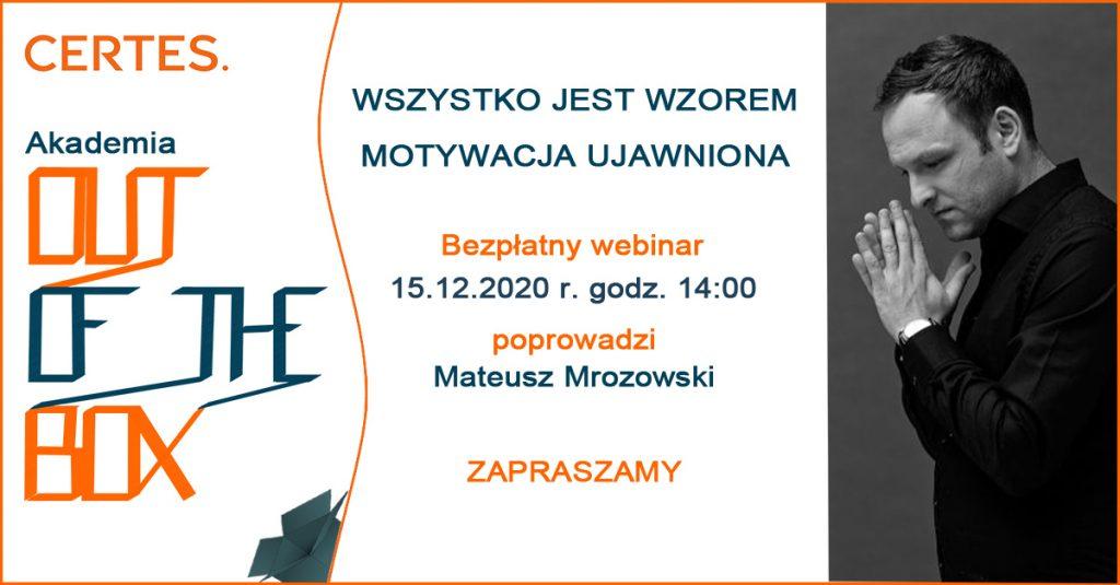 Mateusz Mrozowski webinar Motywacja